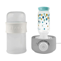Beaba Baby Milk Second Flaschenwärmer / Sterilisator Grey