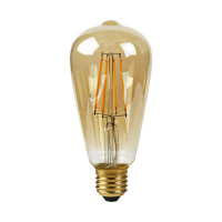 Nedis WiFi Smart LED-Lampe Filament E27 ST64 5 W
