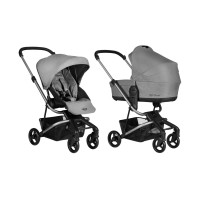 Easywalker MINI Kinderwagen 2-in-1 Soho Grau