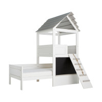 Life Time Play Tower Bett Deluxe Weiß Lackiert