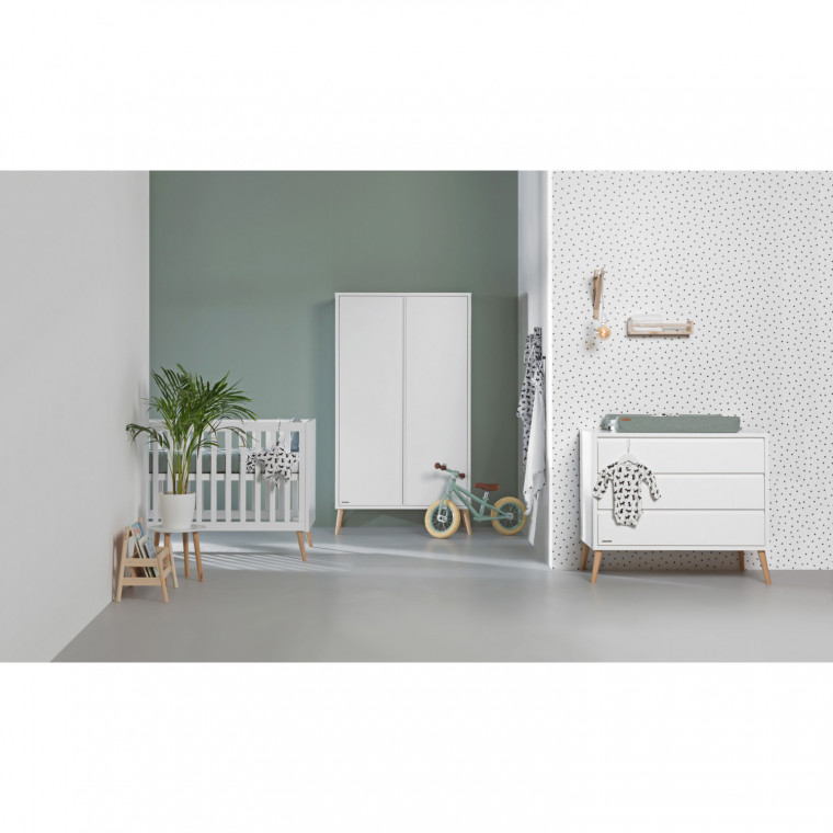 Europe Baby Sterre Commode Wit